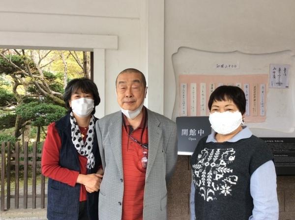 河合曽良の育った「大智院」から、御住職が「芭蕉の館」を訪れました。_f0289632_20193198.jpg