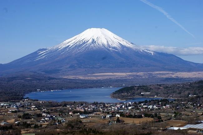 富士周辺も春がやってきました!桜が咲き始めました。【山中湖の富士山】_d0153860_16451594.jpg
