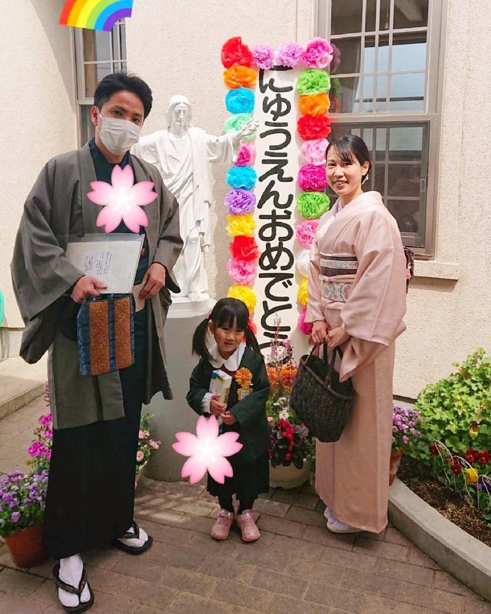 入園式^^ 天真爛漫な三女👧_d0230676_16560025.jpg