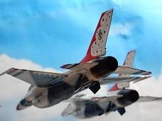 Monogram 1/72 USAF Thunderbirds 製作 3_a0350883_02195931.jpg