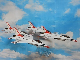 Monogram 1/72 USAF Thunderbirds 製作 3_a0350883_02203656.jpg