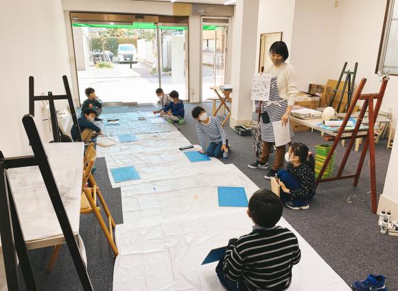 ルカノーズ池袋校・改装計画しつつも授業開始~!_d0130395_09301783.jpg