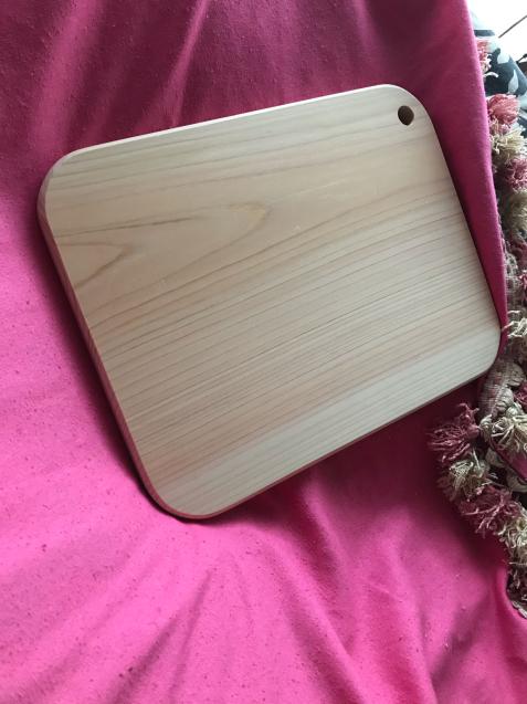 檜のまな板 / yoshi_d0135801_19463218.jpg