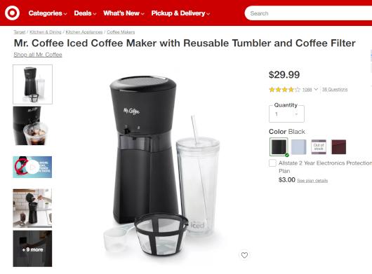 コロナ禍の米国で売れてる調理器具・調理家電と言えば…  コーヒー・メーカー(Coffee Maker)?!_b0007805_06011428.jpg