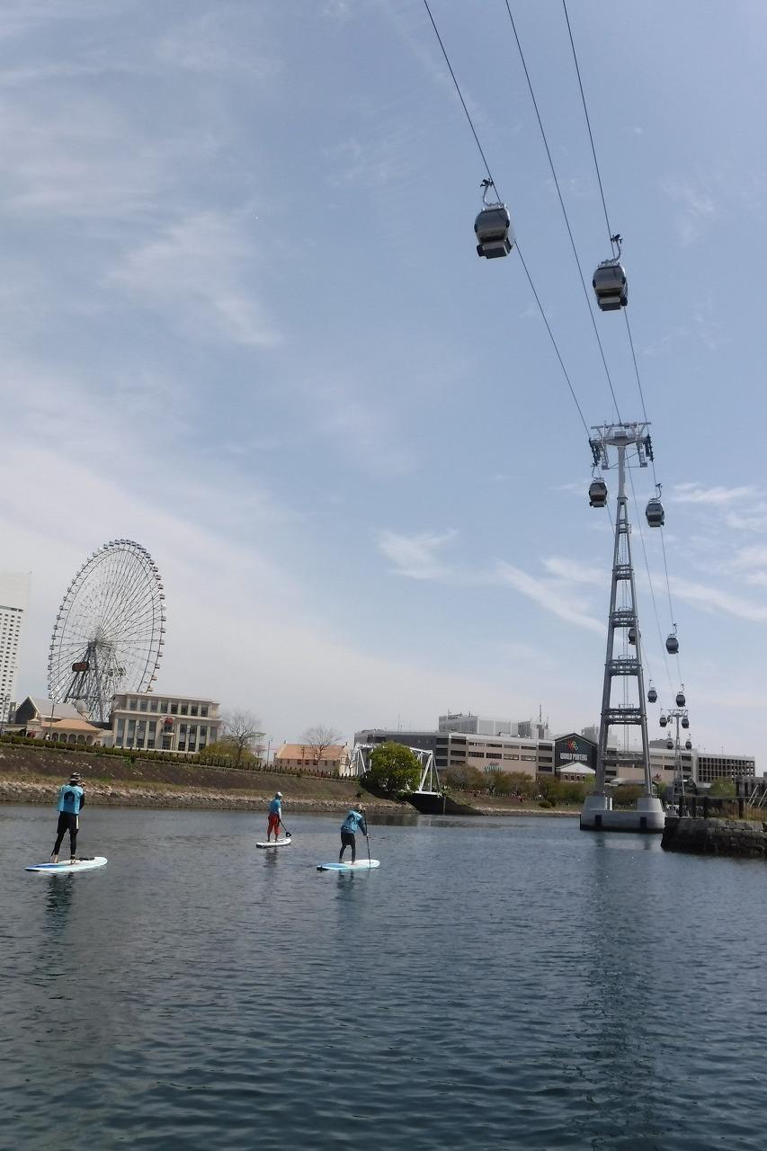 横浜・大岡川でSUPを楽しむ_c0027849_14433764.jpg