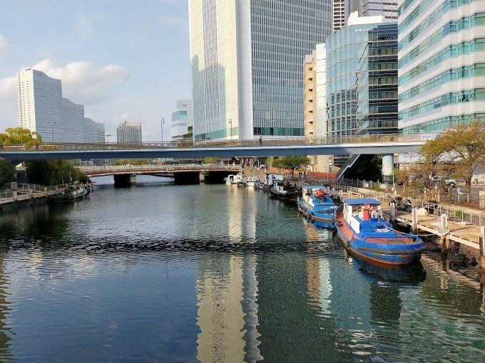 横浜・大岡川でSUPを楽しむ_c0027849_14452973.jpg