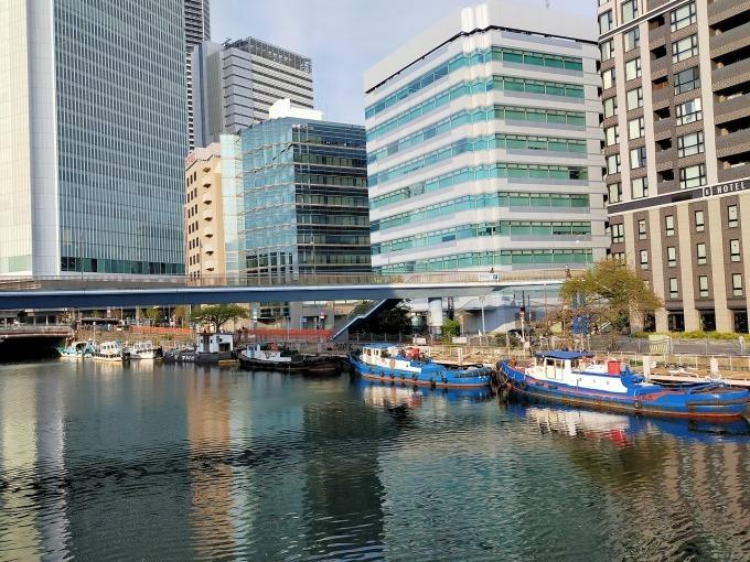 横浜・大岡川でSUPを楽しむ_c0027849_16243858.jpg