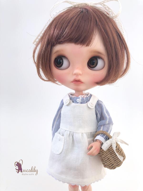 * lucalily * dolls clothes * Patchwork blouson set *_d0217189_12164486.jpeg