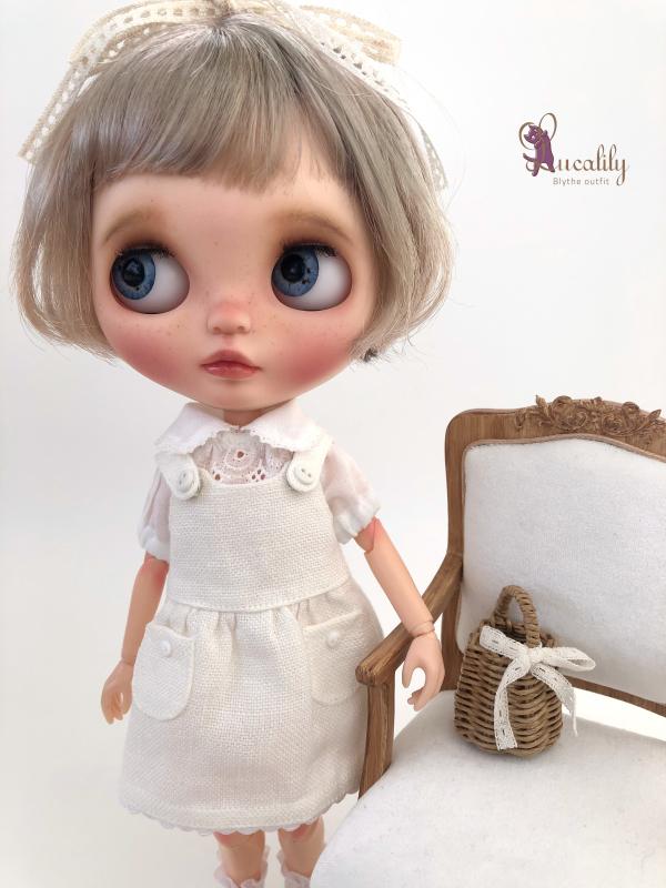* lucalily * dolls clothes * Patchwork blouson set *_d0217189_12165629.jpeg