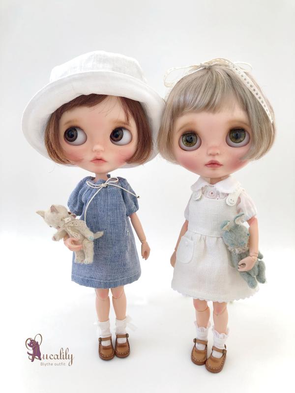 * lucalily * dolls clothes * Patchwork blouson set *_d0217189_12165938.jpeg