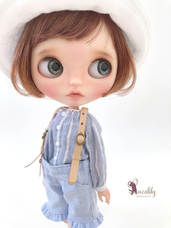 * lucalily * dolls clothes * Patchwork blouson set *_d0217189_12170572.jpeg