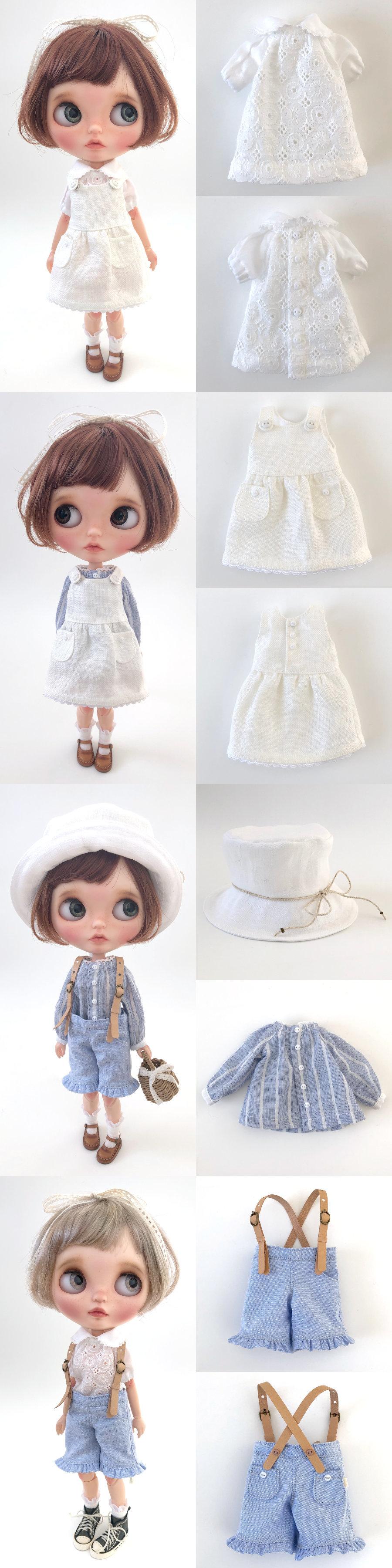 * lucalily * dolls clothes * Patchwork blouson set *_d0217189_12171330.jpeg