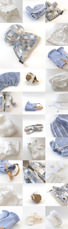 * lucalily * dolls clothes * Patchwork blouson set *_d0217189_12171507.jpg