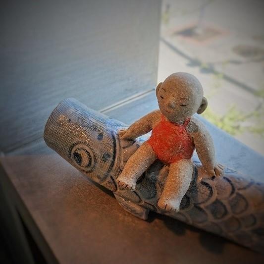 人形展 ーむかし、むかし Once upon a time…vol.24ー より 作品紹介『和のお人形』_b0232919_15391914.jpg