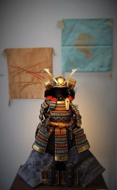 アンティークの端午の節句にちなんだ鎧兜やお道具もお目見えです!_b0232919_16042896.jpg