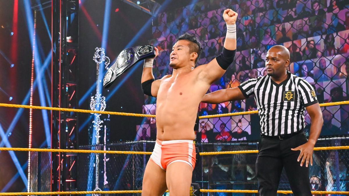 KUSHIDAが「NXTはレスリングへのラブレター」と述べる_c0390222_13580837.jpg