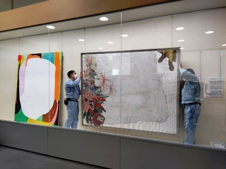 作業日誌(令和3年度台東区アートギャラリー作品展示替え業務)_c0251346_13021248.jpg