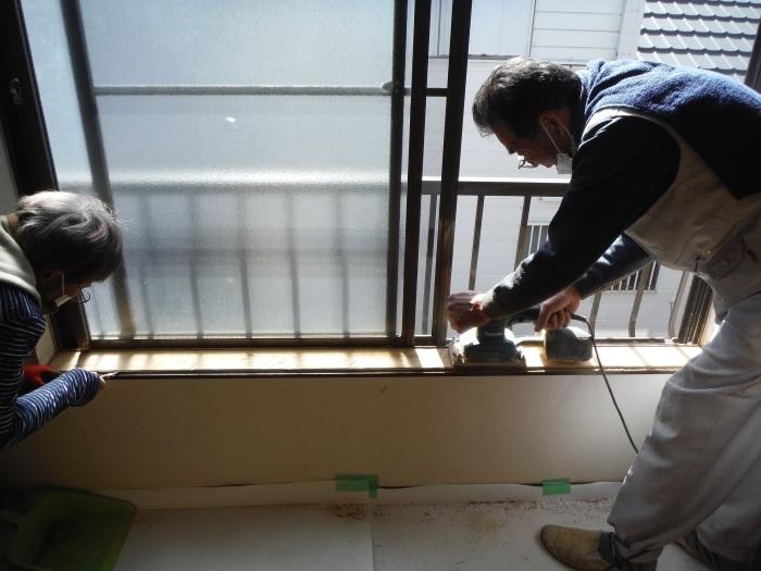 室内リフォーム ~ 窓枠工事。_d0165368_04223908.jpg
