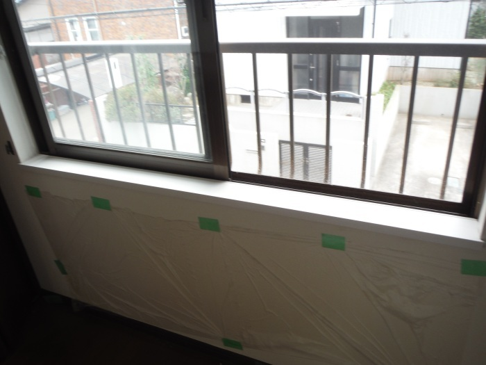 室内リフォーム ~ 窓枠工事。_d0165368_04230647.jpg
