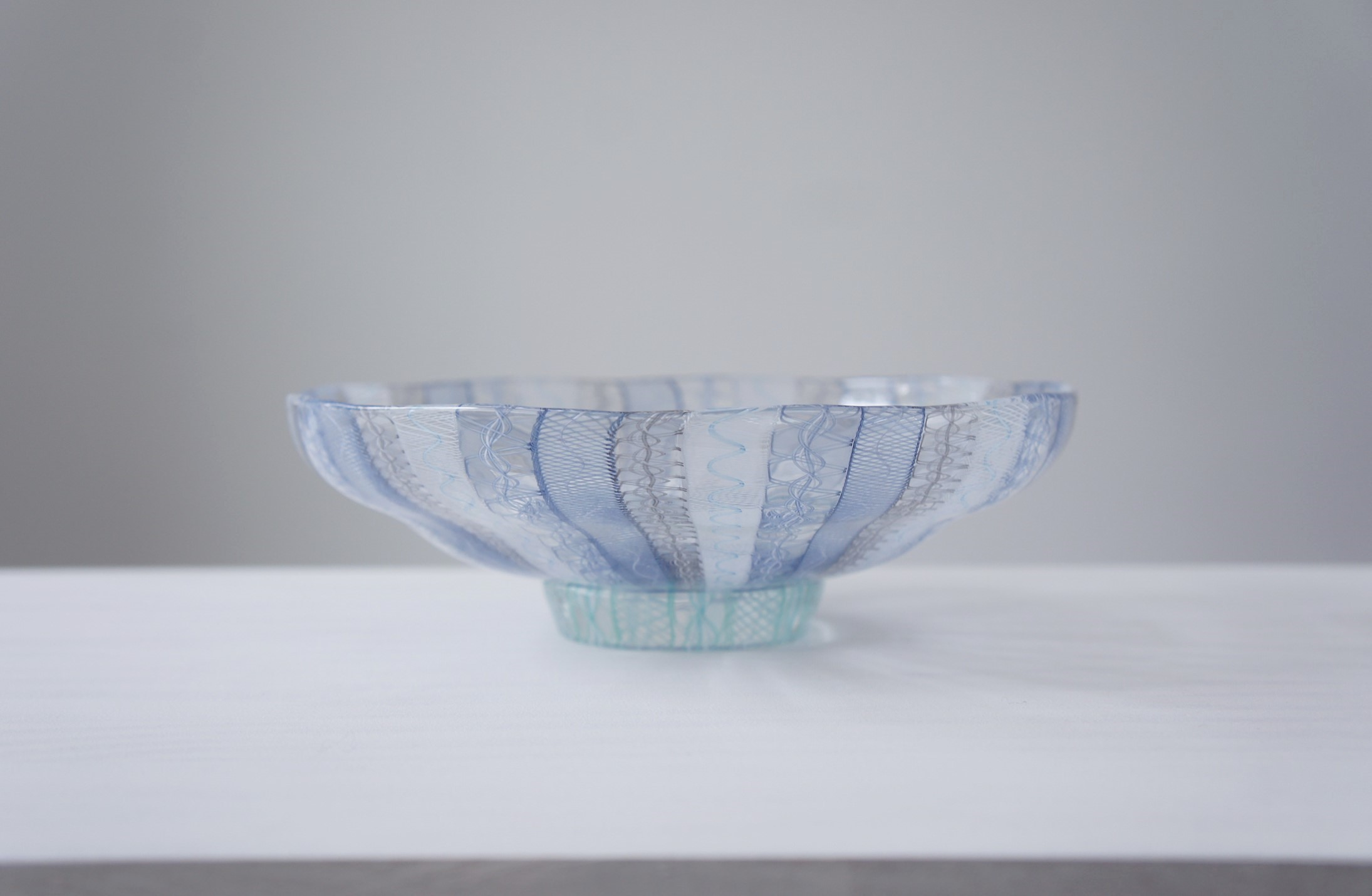 Luccichii展出品作品 小西潮さんの平茶碗_b0353974_22213797.jpg