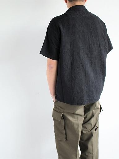 Porter Classic SASHIKO STRETCH KEROUAC SHIRT_b0139281_16243706.jpg