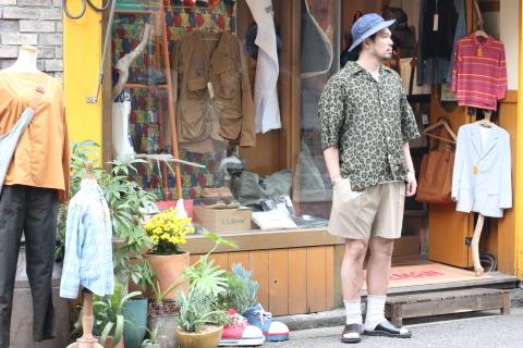 """「ChahChah」 夏ファッションが楽しくなる \""""HEART LEOPARD CHILL SHIRTS\"""" ご紹介_f0191324_08042245.jpg"""
