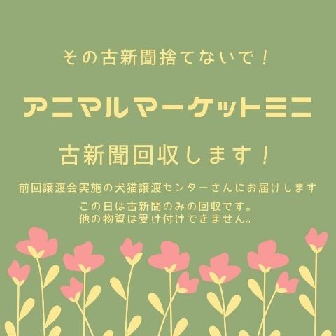 アニマルマーケットミニ*Sakuro*_a0392641_10350476.jpg