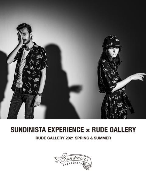 "\""YUSUKE CHIBA meets RUDE GALLERY\"" 「SUNDINISTA EXPERIENCE」_d0100143_20514655.jpg"