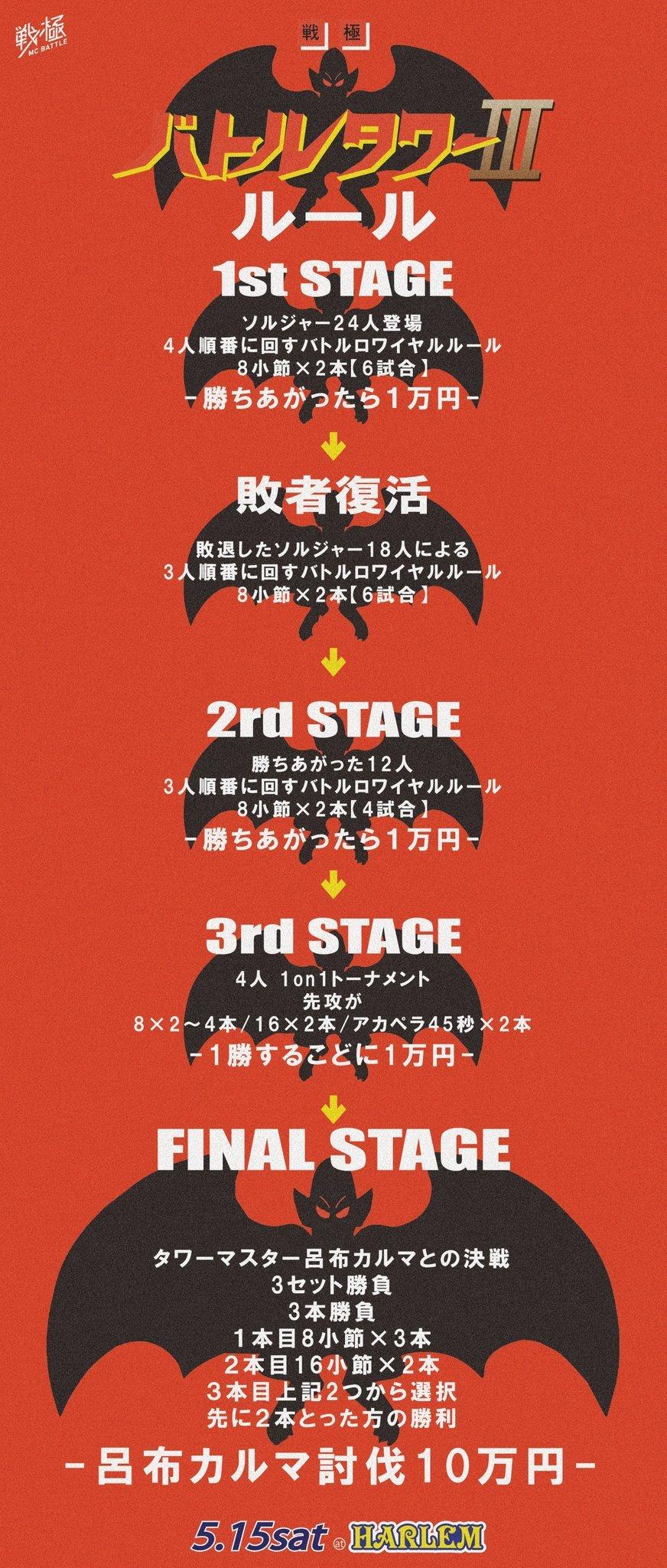 5/15 戦極BATLLE TOWERⅢ 配信チケット販売開始!_e0246863_05194873.jpg