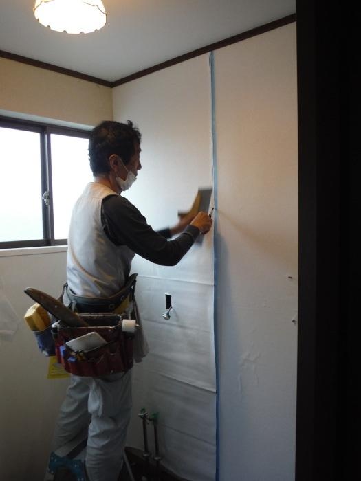 室内リフォーム ~ 洗面所内装工事。_d0165368_04281340.jpg