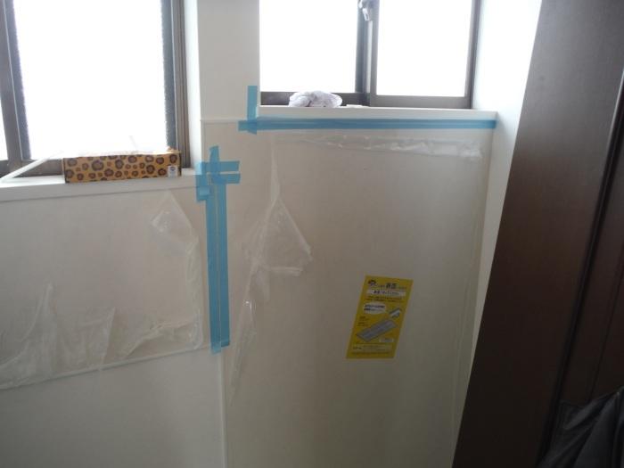 室内リフォーム ~ 洗面所内装工事。_d0165368_04283138.jpg