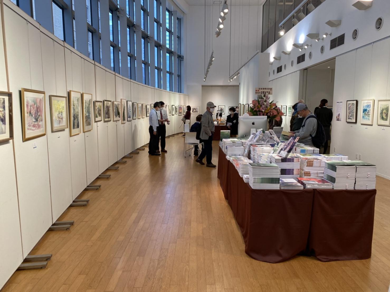 JWS日本透明水彩会展 4/14~4/20_f0176370_12562073.jpg