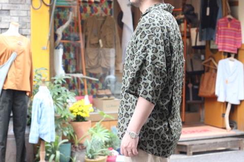 """「ChahChah」 夏ファッションが楽しくなる \""""HEART LEOPARD CHILL SHIRTS\"""" ご紹介_f0191324_08193838.jpg"""