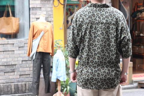 """「ChahChah」 夏ファッションが楽しくなる \""""HEART LEOPARD CHILL SHIRTS\"""" ご紹介_f0191324_08194602.jpg"""