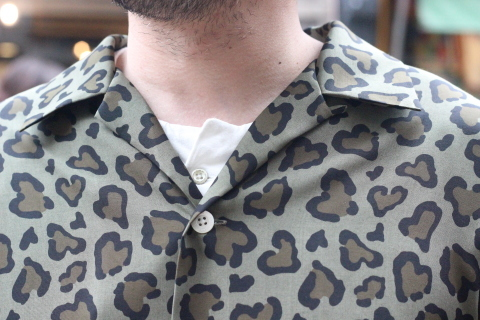 """「ChahChah」 夏ファッションが楽しくなる \""""HEART LEOPARD CHILL SHIRTS\"""" ご紹介_f0191324_08195357.jpg"""