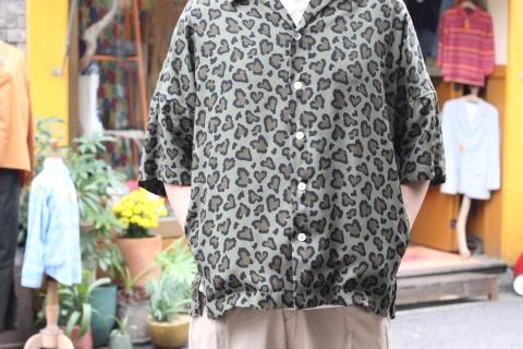 """「ChahChah」 夏ファッションが楽しくなる \""""HEART LEOPARD CHILL SHIRTS\"""" ご紹介_f0191324_08203795.jpg"""