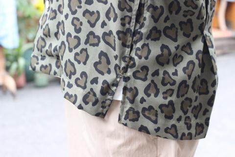 """「ChahChah」 夏ファッションが楽しくなる \""""HEART LEOPARD CHILL SHIRTS\"""" ご紹介_f0191324_08204481.jpg"""