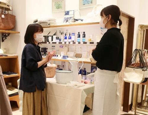 Neut SOAP の作者 荘子さんがご来店くださいました。_c0227633_21324968.jpg