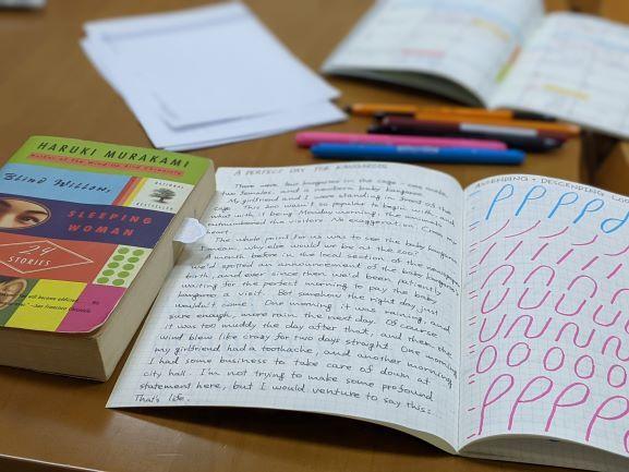 村上春樹さんの物語を写しながら…_d0355872_06384265.jpg