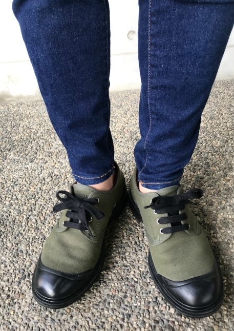 PEZZOL ITALY Military CANVAS SHOES_d0152280_21102611.jpeg