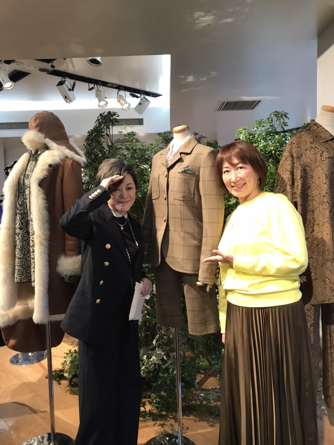 JUNKO SHIMADA展示会♪_d0339889_20203502.jpg