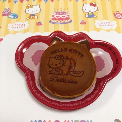 キティちゃんのりんごどら焼き♡_c0106100_20521259.jpg