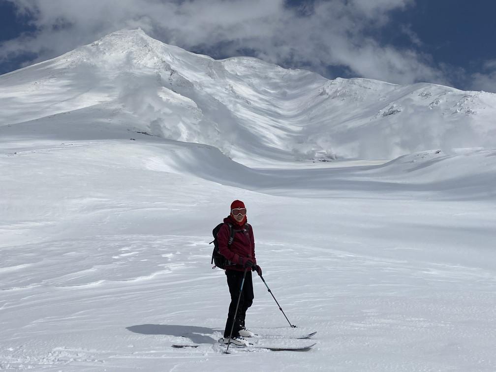 """2021年3月 『山スキーの大雪旭岳、ニセコ、羊蹄山』  March 2021 \""""Ski in Mt Taisetsu, Mt Niseko & Mt Yotei\""""_c0219616_17251643.jpg"""