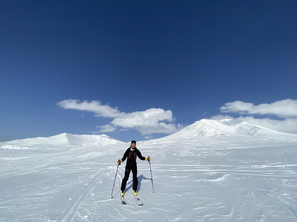 """2021年3月 『山スキーの大雪旭岳、ニセコ、羊蹄山』  March 2021 \""""Ski in Mt Taisetsu, Mt Niseko & Mt Yotei\""""_c0219616_17251683.jpg"""