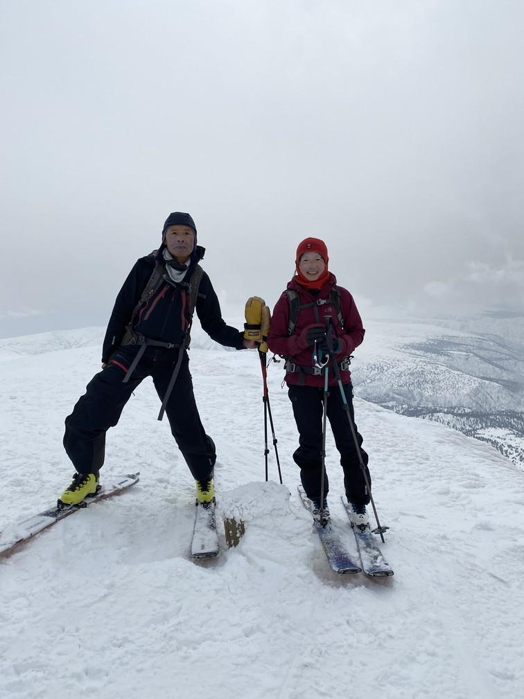 """2021年3月 『山スキーの大雪旭岳、ニセコ、羊蹄山』  March 2021 \""""Ski in Mt Taisetsu, Mt Niseko & Mt Yotei\""""_c0219616_17251712.jpg"""