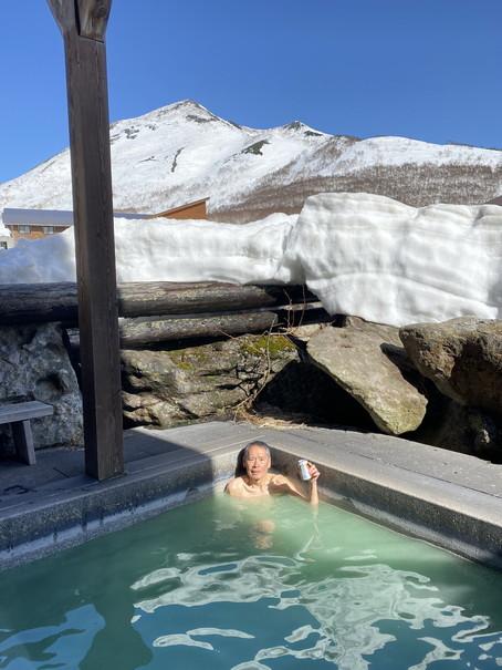"""2021年3月 『山スキーの大雪旭岳、ニセコ、羊蹄山』  March 2021 \""""Ski in Mt Taisetsu, Mt Niseko & Mt Yotei\""""_c0219616_17433206.jpg"""
