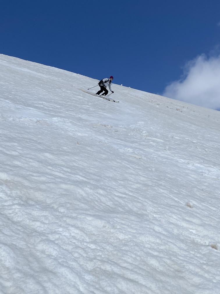 """2021年3月 『山スキーの大雪旭岳、ニセコ、羊蹄山』  March 2021 \""""Ski in Mt Taisetsu, Mt Niseko & Mt Yotei\""""_c0219616_17433237.jpg"""