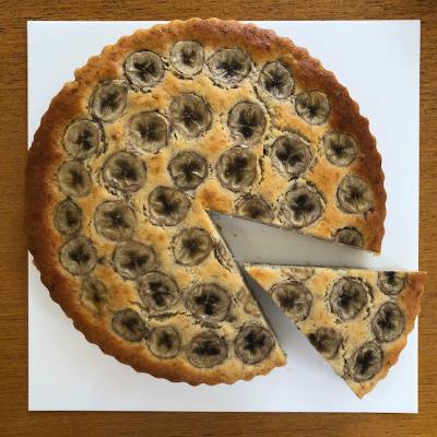 バナナのケーキ_b0102217_16011529.jpg