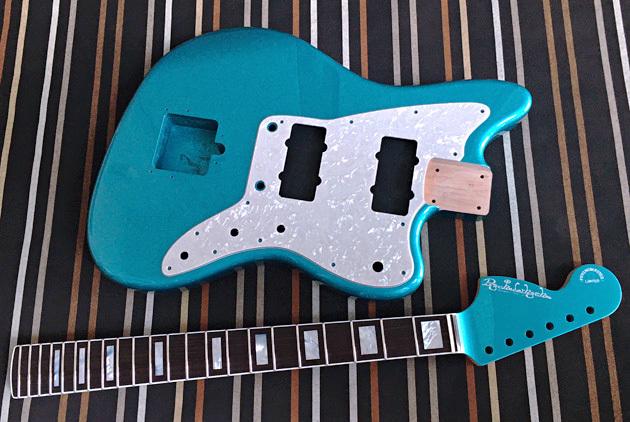 逆ヘッドの「Blue TurquoiseのPsychomas」の塗装完了!_e0053731_17262318.jpeg