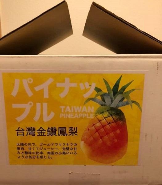 台湾のパイナップル_c0033636_13142331.jpg